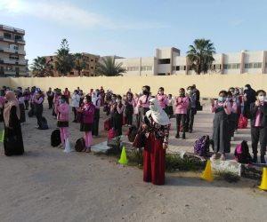 تفاصيل انتظام الدراسة بمدارس شمال سيناء بالفصل الدراسي الثاني (صور)