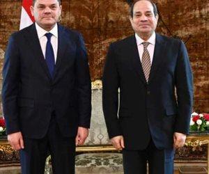 هنا القاهرة.. رئيس الحكومة الليبية: «متفائل بعلاقات قوية مع مصر»