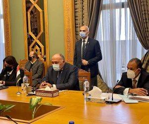 وزير الخارجية ونظيره الغينى يبحثان الجهود الإقليمية لمجابهة التنظيمات الإرهابية