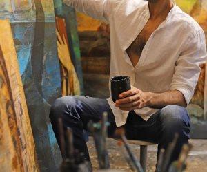 """الفنان التشكيلي كريم عبد الملاك يفتتح معرضه"""" العين الثالثة"""" في 22 مارس"""