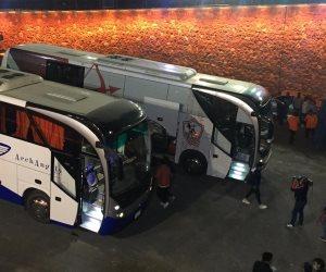 وصول فريقي الزمالك والترجى استاد القاهرة استعدادا لقمة دوري أبطال أفريقيا