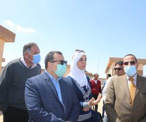 سوق العريش للجملة.. صرح حضاري وتجاري بسيناء والافتتاح في أبريل (صور)