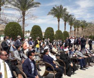 بدء فعاليات احتفالية الذكرى الـ 32 لرفع العلم المصري على طابا