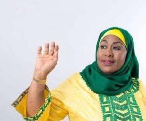 سامية حسن صلوحي رئيساً لتنزانيا.. أول إمراة مسلمة تتولى منصب الرئيس في القارة السمراء