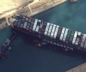 السعودية: نقدر كفاءة مصر العالية فى التعامل مع السفينة الجانحة بقناة السويس