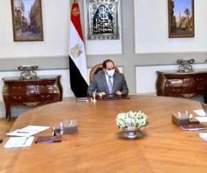 الرئيس السيسى يوجه بالاسراع في تنفيذ مشروعات إمدادات خطوط التغذية الكهربائية لسيناء