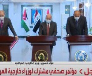 سامح شكري: نتطلع إلى عقد القمة الثلاثية في بغداد بأقرب فرصة