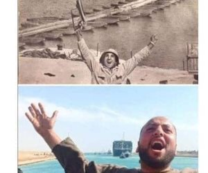 """صاحب """"صورة العبور في أزمة السفينة الجانحة"""" يتحدث لـ""""صوت الأمة"""" ويروي تفاصيل الملحمة"""