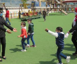 الداخلية تشارك الأطفال الاحتفال بيوم اليتيم ..صور