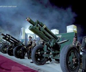 الموكب الذهبى للمومياوات الملكية يصل المتحف القومي للحضارة والمدفعية تطلق 21 طلقة
