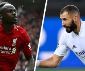 معركة ريال مدريد وليفربول.. ماذا قدم ثنائي الهجوم ماني وبنزيما في دوري أبطال أوروبا؟