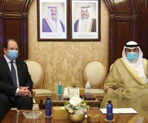 رئيس وزراء الكويت يستقبل الوزير عباس كامل رئيس المخابرات العامة