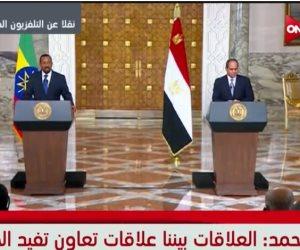 «والله لن أقوم بأي ضرر للمياة في مصر».. هكذا خالف أبي أحمد القسم أمام العالم (فيديو)