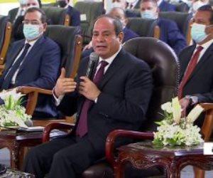 الرئيس السيسى: احترمنا حق إثيوبيا فى التنمية بشرط عدم المساس بمصالح مصر