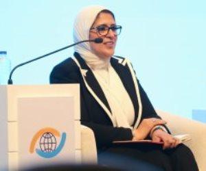 وزيرة الصحة: جائحة كورونا كانت أكبر اختبار جماعى لكل دول العالم