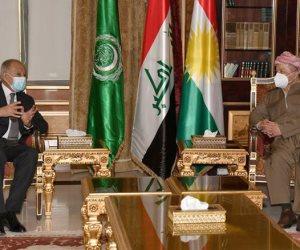 زيارة لأبو الغيط إلى كردستان العراق.. ما هي تفاصيلها وأهدافها؟