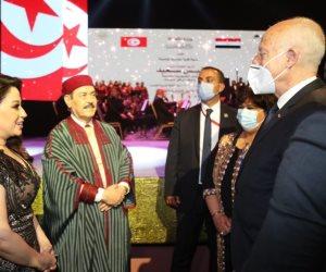 قيس سعيد في احتفالية دار الأوبرا: مصر دائما ستظل زاخرة بفنونها وتراثها
