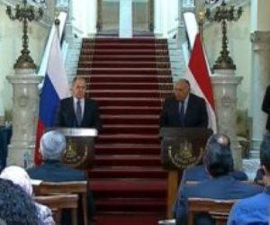 وزير خارجية روسيا: مهتمون بتسوية ملف سد النهضة الإثيوبى عبر الحوار السياسى