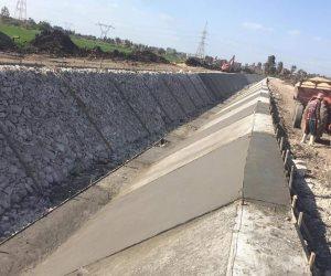 المشروع القومي لتبطين الترع.. الانتهاء من تأهيل 46 كيلو متر بالقليوبية و 405 كم بكفر الشيخ