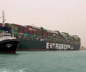 الكشف عن قيمة تعويض مصر من شركة السفينة إيفرجيفن