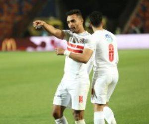 الزمالك يتعادل مع حرس الحدود 1 / 1 فى كأس مصر بالشوط الأول