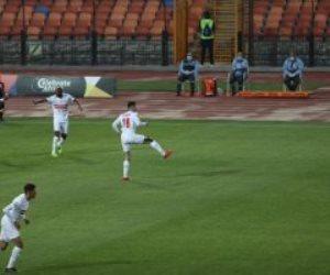 محمود علاء يضيف الهدف الثالث للزمالك أمام حرس الحدود فى كأس مصر