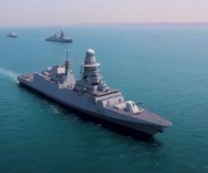 وصول الفرقاطة برنيس إلى قاعدة الإسكندرية للانضمام للقوات البحرية.. فيديو