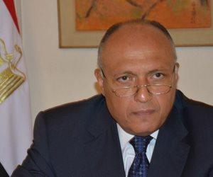 وزير الخارجية يبحث مع نظيره التونسي التحرك العربي في مجلس الأمن