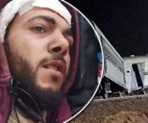 العناية الإلهية تنقذ مئات الركاب من الموت.. مصابو حادث قطار الشرقية يروون التفاصيل