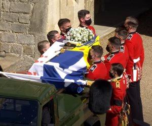10 مشاهد من جنازة الأمير فيليب (صور)