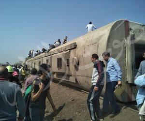 محافظة القليوبية: إصابة 103 أشخاص في حادث «قطار طوخ»
