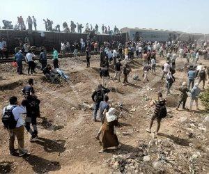 """الصحة: وفاة 11 شخصًا وإصابة 98 آخرين في حادث """"قطار طوخ"""""""