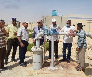 الإثنين المقبل.. افتتاح محطة مياه شرب في وسط سيناء بطاقة إنتاجية 500 م3 يوميا (صور)