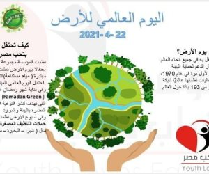 مؤسسة «شباب بتحب مصر» تحتفل بيوم الأرض العالمي