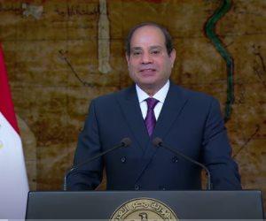 الرئيس السيسي في ذكرى تحرير سيناء: الحرب لم تكن أبداً غاية مصر