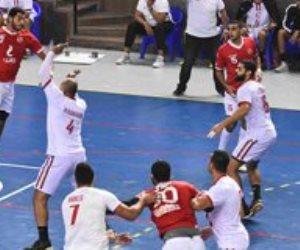 الأهلي يهزم الزمالك 26 / 23 ويُتوج بطلا لكأس مصر لكرة اليد
