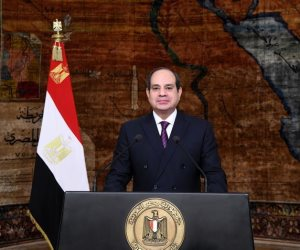 الرئيس للشعب في ذكرى تحرير سيناء.. «الأرض بالنسبة لنا هي العرض»