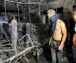 ارتفاع ضحايا مستشفى ابن الخطيب في بغداد .. ورئيس الوزراء العراقي يفتح تحقيقا شاملا