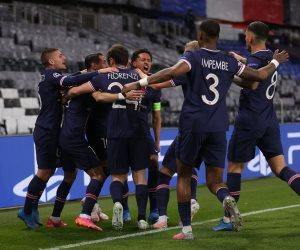 باريس سان جيرمان يحسم الشوط الأول أمام مانشستر سيتي بهدف.. فيديو