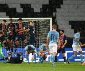 بهدفين ضد باريس سان جيرمان..مان سيتي يقترب من نهائي دوري الأبطال .. فيديو