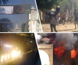 إرهاب وقتل وسفك دماء.. جرائم لا تسقط بالتعاطف الكاذب.. الإرهابيون حرقوا سيارات الشرطة وقتلوا مواطنين أبرياء