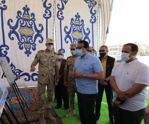 خالد عبد الغفار وزير التعليم العالي يتفقد مباني جامعة برج العرب التكنولوجية بالإسكندرية (صور)