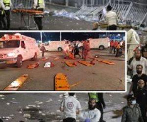 44 قتيلًا و150 مصابًا.. تفاصيل انهيار جسر خلال إحدى المناسبات الدينية في إسرائيل
