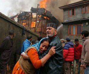 زاد المعاناة.. حريق في مستشفى لمرضى كورونا بالهند يقتل 15 شخصا