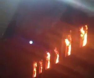 سبب حريق كنيسة العمرانية.. النار التهمت 4 طوابق