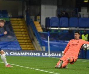 """تشيلسي ضد ريال مدريد .. البلوز يتقدم فى الدقيقة 28 برأسية فيرنر """"فيديو"""""""
