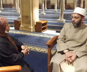 باحث شرعي بهيئة كبار علماء الأزهر من داخل الجامع الأزهر على المسلم ألا ينشغل برؤية ليلة القدر