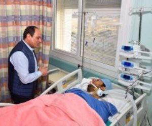 بعد حلقة «الاختيار-2».. فيديو زيارة الرئيس السيسي للنقيب الحايس يتصدر تويتر مجددا