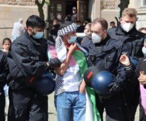 المئات يتظاهرون فى ألمانيا تضامنا مع فلسطين مطالبين بفرض عقوبات على إسرائيل