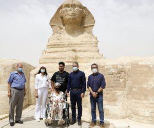 """""""جلوريا فيتال"""".. أمريكية تحارب السرطان وقعت في حب مصر"""
